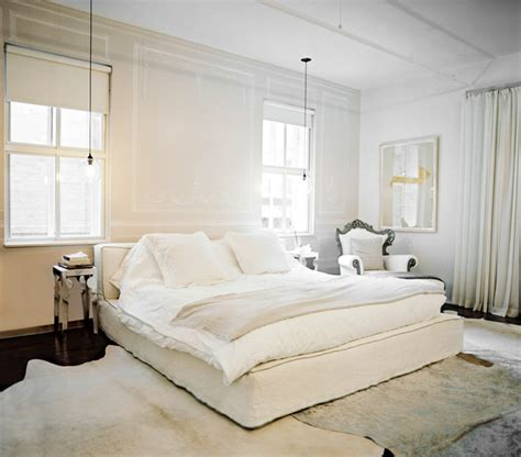 white bedroom rug cowhide rug photos 34 of 40 lonny