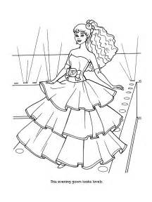 Barbie Printable Coloring Pages For Girls sketch template