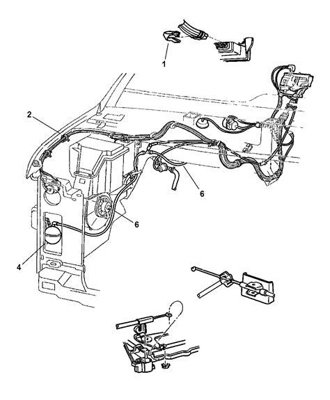 dodge ram  heater control wiring diagram wiring