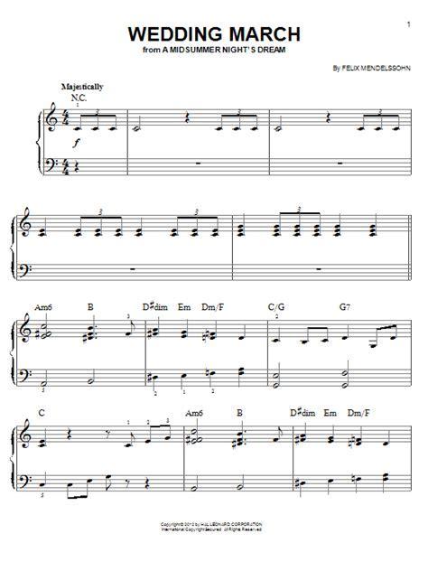 Wedding March   Sheet Music Direct