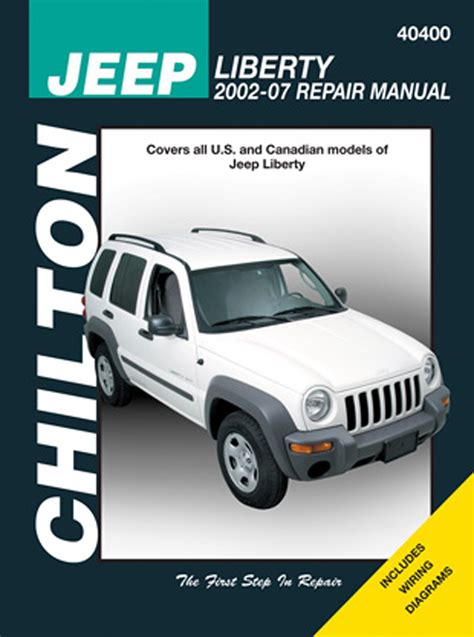 service and repair manuals 2007 jeep liberty electronic valve timing chilton 40400 service shop repair manual jeep liberty 2002 2007 ebay
