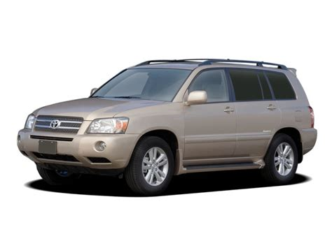 how cars run 2007 toyota highlander hybrid seat position control 2007 toyota highlander reviews and rating motor trend