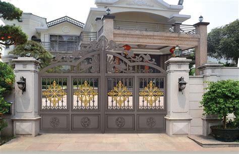 Cast Aluminum Gate Design / Sliding Metal Gates/steel
