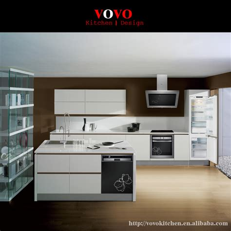 high gloss white kitchen cabinets handless kitchen cabinet in high gloss white on aliexpress