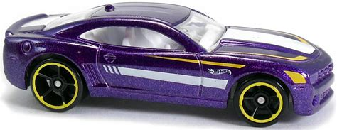 Hotwheels 10 Camaro Ss Purple 10 camaro ss 70mm 2009 wheels newsletter
