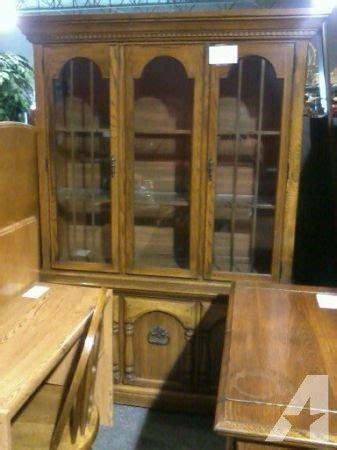 free delivery oak china cabinet dining room server