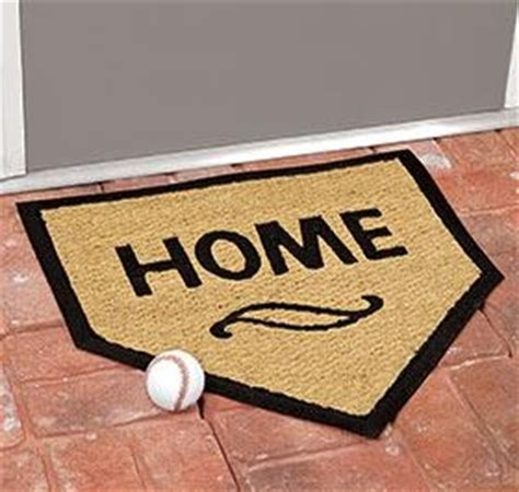 quot home plate quot door mat harriet home decor