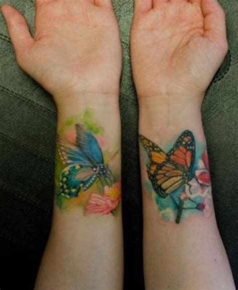 coloured wrist tattoos 79 beautiful butterfly wrist tattoos