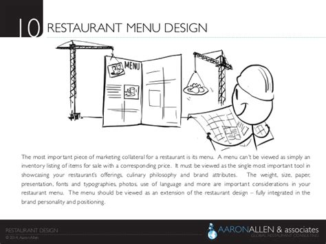 restaurant layout considerations 10 restaurant menu design the
