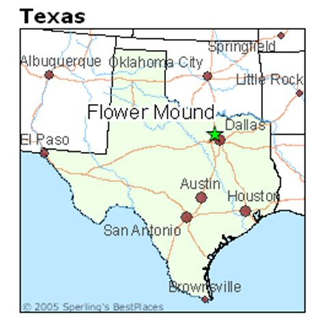 map of flower mound texas best places to live in flower mound texas