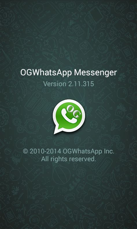 ogwhatsapp full version apk download free ogwhatsapp 2 11 315 apk latest version top apps