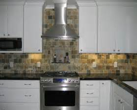 Slate Backsplash Kitchen Slate Tile Backsplash Houzz