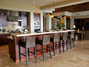 Open Kitchen With Island Open Kitchen With Large Island Workstation Traditional