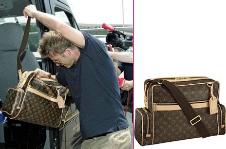 Louis Vuitton David Beckham With His Louis Vuitton Sac Squash And Pegase Luggage by David Beckham With His Louis Vuitton Sac Squash And Pegase