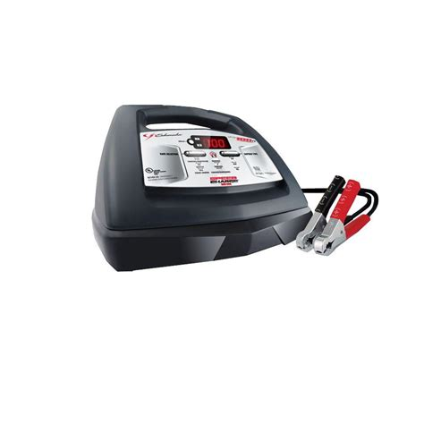electric battery chargers schumacher electric fully automatic battery charger 6 12
