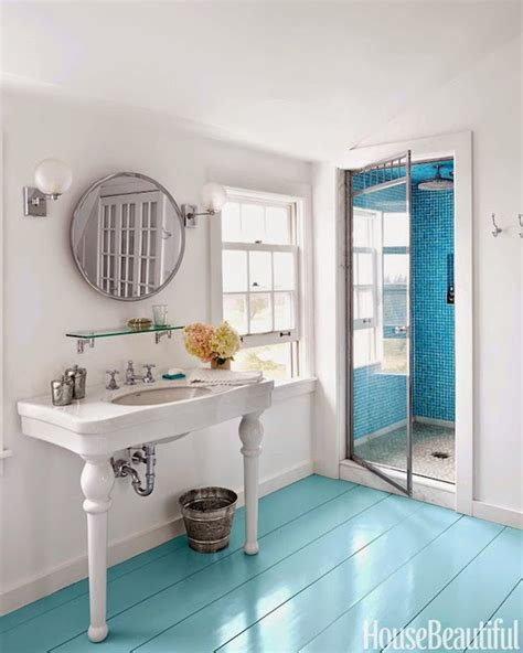 turquoise color bathroom turquoise floors cottage bathroom sherwin williams