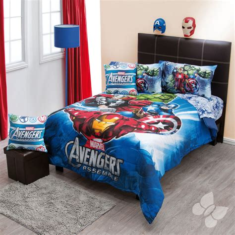 New Boys Marvel Avengers Captain America Hulk Twin Marvel Bedding Sets