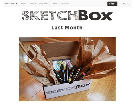 sketchbook subscription free lightning pitch sketchbox monthly subscription box for