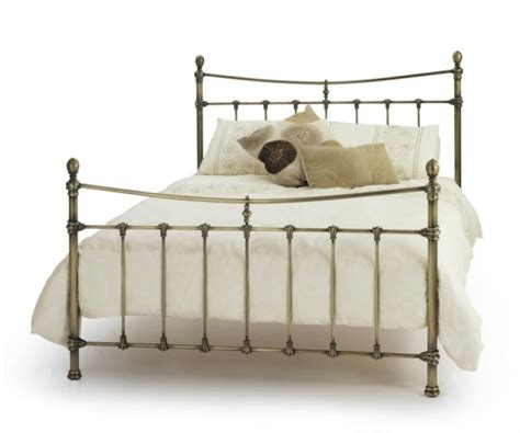 All Metal Bed Frame Serene 4ft6 Antique Brass Metal Bed Frame By Serene Furnishings