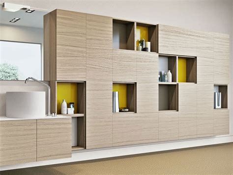 Modular Wall Storage Furniture by Sophisticated Bathroom Storage Units Interiorzine