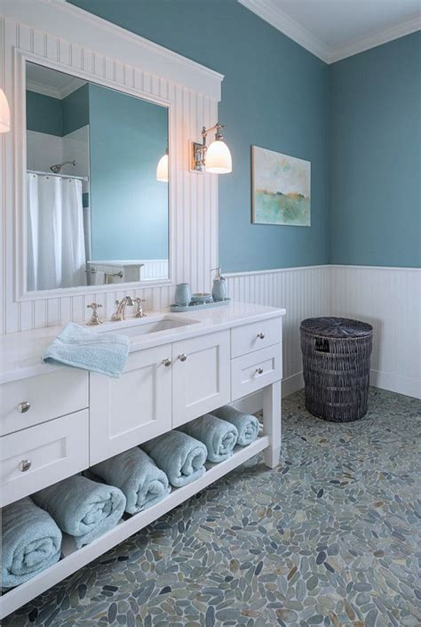 blue bathroom colors best 25 coastal bathrooms ideas on