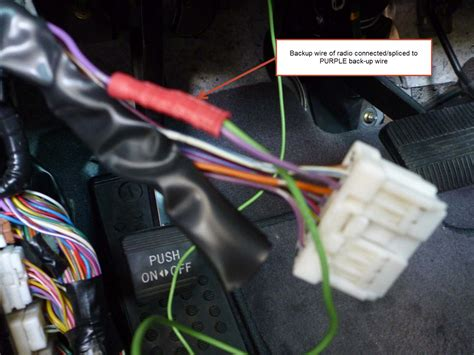 installing  backup camera  harness wire