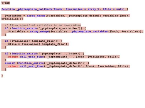 drupal theme hook not found rewriting the drupal theme layer
