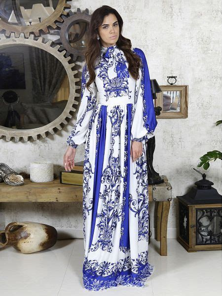 Dress Abu buy dina zaki blue crepe special occasion dress for dresses uae souq