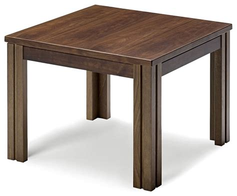 Modern Accent Table Walnut Side Table Contemporary Side Tables And End Tables By Smartfurniture