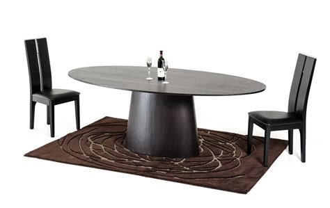 dinner table pedestal base rich brown oval wooden dining table seattle