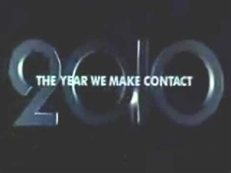 what is the new years made of 2010 the year we make contact trailer