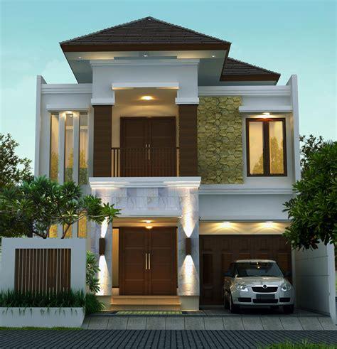 rumah tropis modern     jasa desain rumah jakarta