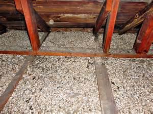 zonolite vermiculite insulation in attc space zonolite