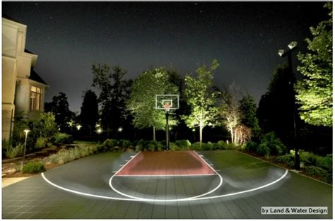 Outdoor Basketball Court Lights 17 Best Images About Outdoor Basketball Courts Hoops On Pinterest Pool Waterfall Sweet And Pools