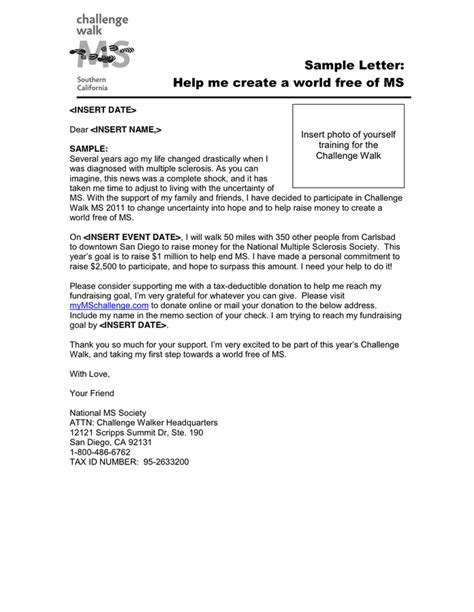 Fundraising Challenge Letter General Donation Request Letter In Word And Pdf Formats