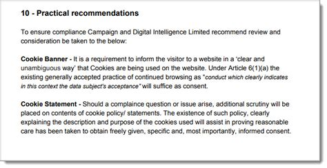 How To Make Your Website Gdpr Compliant Hallam Gdpr Cookie Policy Template