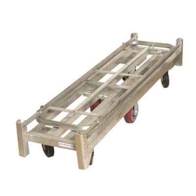 folding boat platform folding aluminum u boat platform truck handtrucks2go