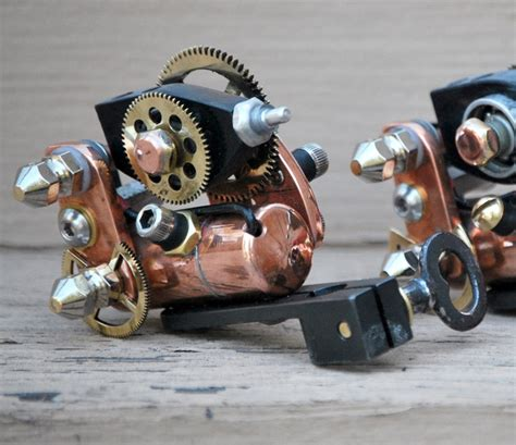 tattoo equipment wanted steunk tattoo machine doubt how well it works but