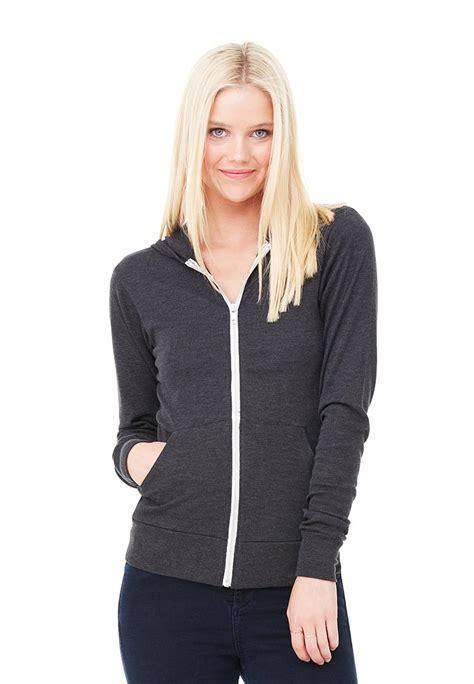 Zipper Hoodie Blasterjaxx 3 canvas 3939 unisex tri blend zip lightweight hoodie