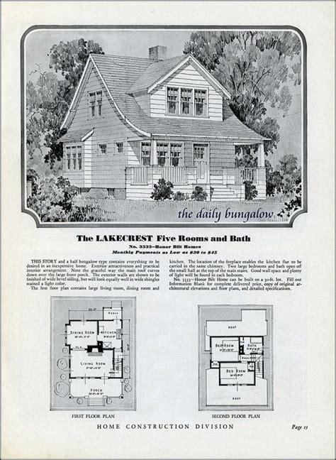 sears homes floor plans 51 best sears kit homes images on pinterest vintage
