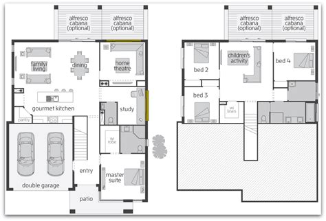 Split Level Home Plans Floor Plan Friday Split Level Home Chambers