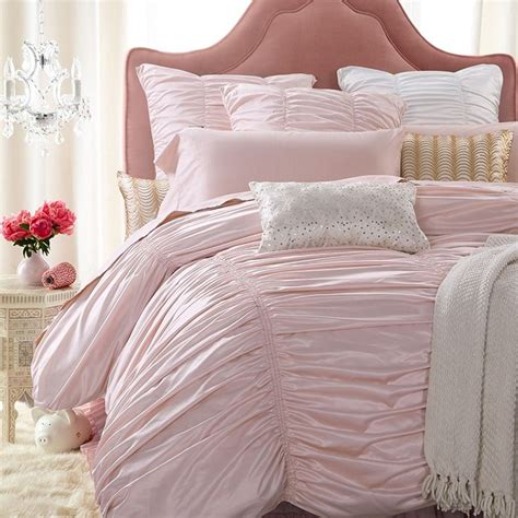 25 best ideas about light pink bedding on pinterest