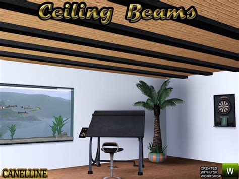 Set Ceiline Cc canelline s oblique construction set ceiling beams