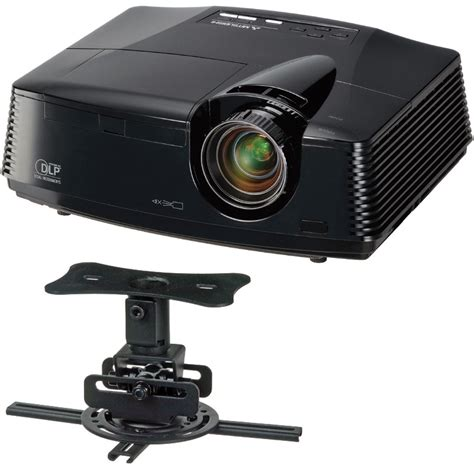 mitsubishi hc3800 dlp home theater projector bundle