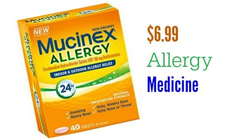 allergy medicine mucinex coupon 6 99 allergy medicine at target southern savers