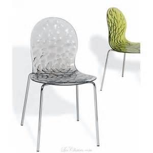 chaises design transparente et chaises transparente