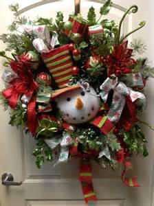 Snowman wreath i love christmas pinterest