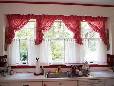curtains for kitchen windows kitchen window curtains 6268