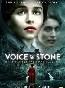 film 2017 version française voice from the stone film 2017 allocin 233