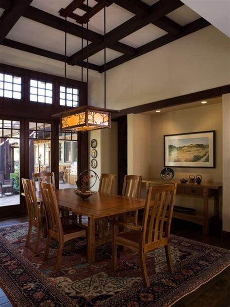 california contemporary craftsman craftsman dining